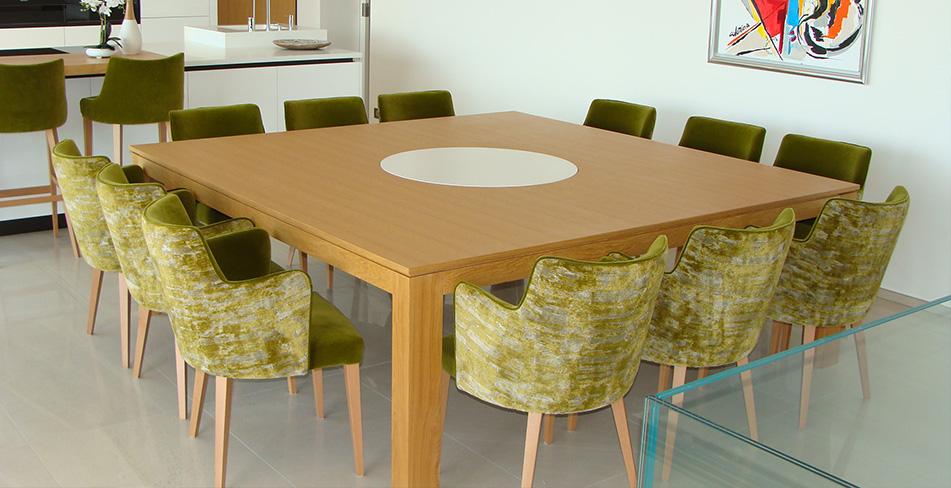 Séjour mobilier table